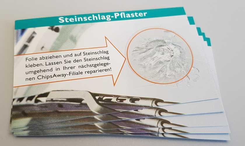 Steinschlag Pflaster