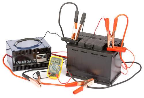 Batterie laden