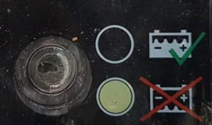 Auto Batterie magisches Auge