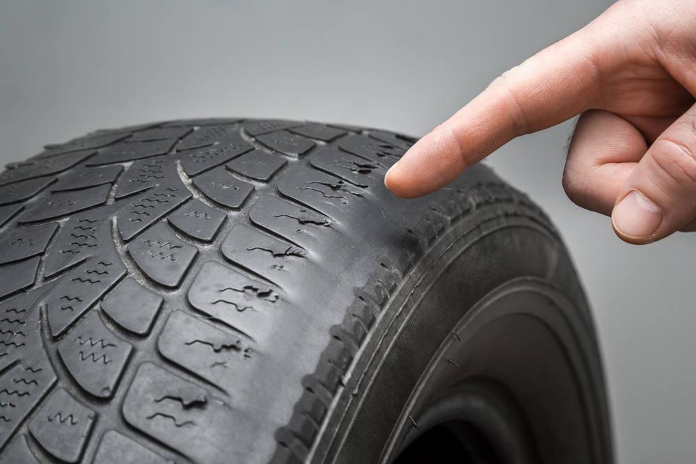 Reifen muss gewechselt werden